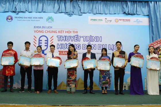 Hội thi Thuyết trình Hướng dẫn du lịch lần thứ 15 năm 2018  ảnh 1