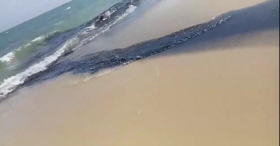 Binh Thuận: Kiểm tra thông tin nước thải đen ngòm xả thẳng ra biển Mũi Né ảnh 2