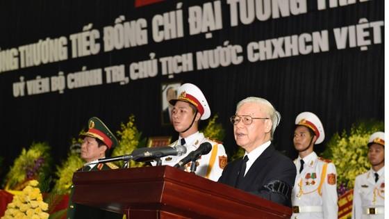 Lễ truy điệu, đưa tang Chủ tịch nước Trần Đại Quang ảnh 1
