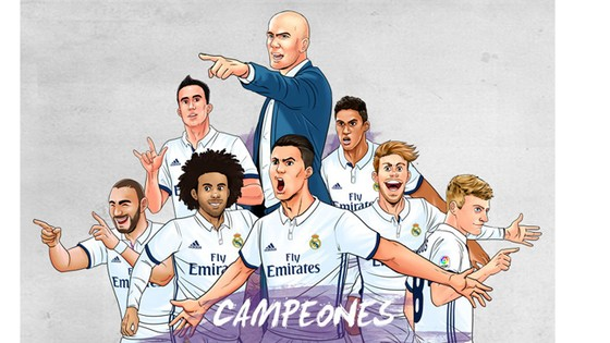 """""""DNA"""" của Real Madrid"""