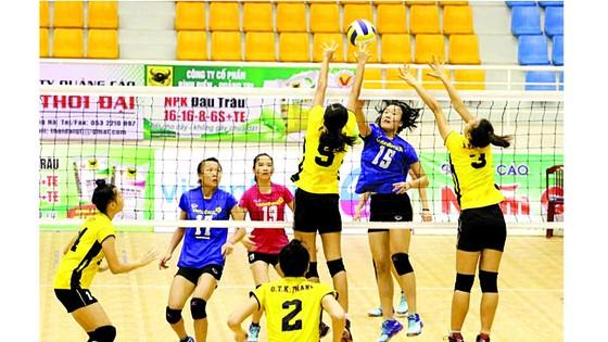 Nhiều gương mặt trẻ triển vọng đã xuất hiện trong đội hình các đội bóng mạnh như  Ngân hàng Công thương, VTV Bình Điền Long An. Ảnh: HUY THẮNG