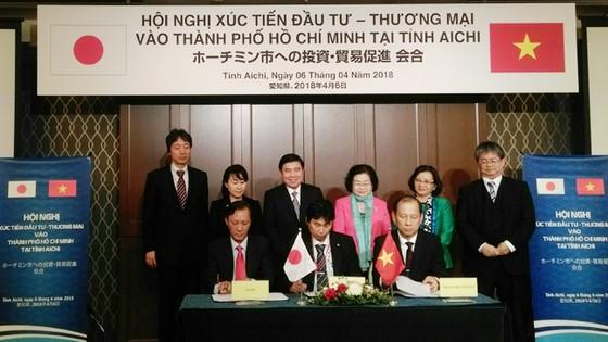 Doanh nghiệp TPHCM và doanh nghiệp tỉnh Aichi ký 8 hợp đồng kinh tế, biên bản hợp tác ghi nhớ   ảnh 2