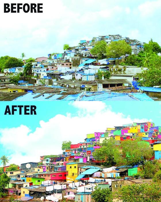 Nghệ thuật thay đổi khu ổ chuột ảnh 1