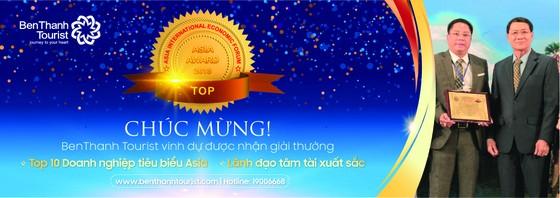 Ceo Benthanh Tourist nhận danh hiệu tốp 10 doanh nhân tâm tài xuất sắc năm 2018 ảnh 1