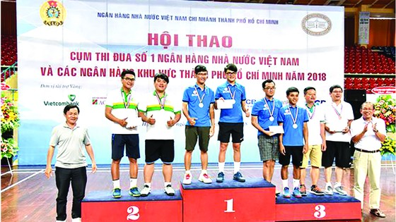 SCB đạt giải nhất toàn đoàn tại Hội thao Ngân hàng Nhà nước khu vực TPHCM ảnh 2