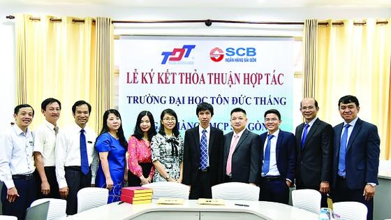 SCB ký kết hợp tác với Trường Đại học Tôn Đức Thắng  ảnh 1