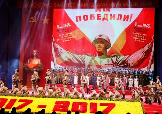 Mít tinh trọng thể kỷ niệm 100 năm Cách mạng Tháng Mười Nga ảnh 3