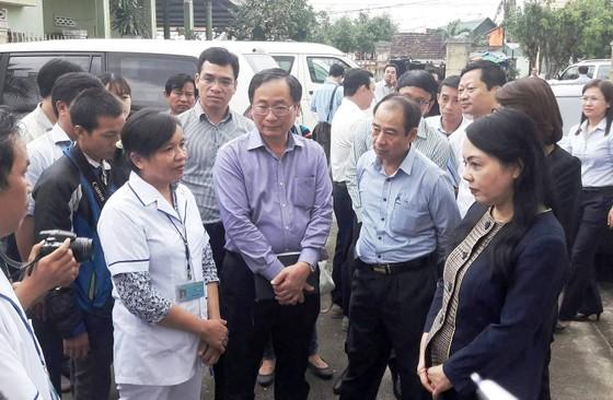 Bộ Y tế hỗ trợ công tác phòng chống dịch bệnh sau bão số 12  ảnh 1