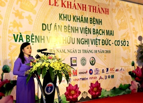 Khám bác sĩ của Bệnh viện Bạch Mai, Việt Đức ngay ở Hà Nam ảnh 1