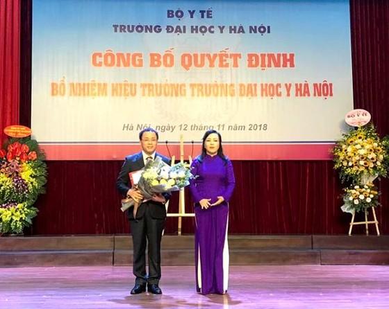 Đại học Y Hà Nội có hiệu trưởng mới ảnh 1