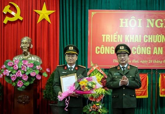 Trung tá Nguyễn Thanh Tuấn làm Phó Giám đốc Công an Thừa Thiên – Huế  ảnh 1