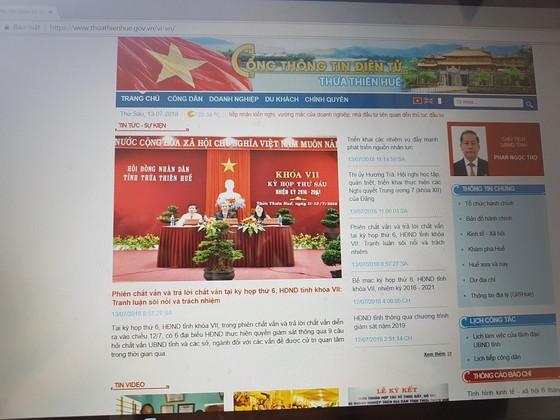 Thừa Thiên - Huế báo cáo Bộ TT-TT việc công chức bị chặn vào Facebook bằng mạng công sở ảnh 1