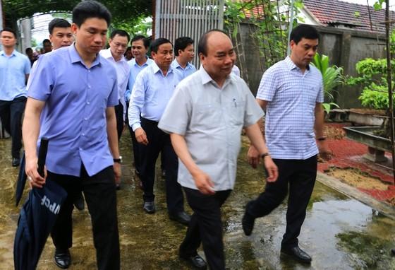 Thủ tướng Chính phủ kiểm tra mô hình nông thôn mới ở Hà Tĩnh ảnh 2