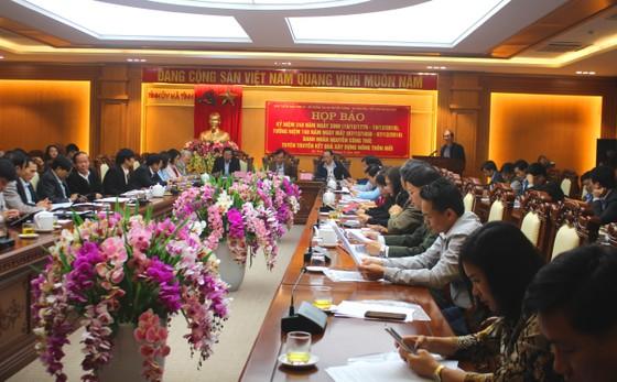 Tổ chức kỷ niệm 240 năm Ngày sinh, tưởng niệm 160 năm Ngày mất Danh nhân văn hóa Nguyễn Công Trứ ảnh 1