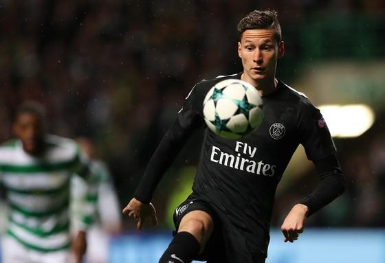 Julian Draxler đã ra sân ở Champions League khiến cho việc chuyển nhượng của anh thêm khó khăn. Ảnh: Getty Images