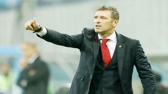 HLV Massimo Carrera của Spartak Moscow. Ảnh: Getty Images