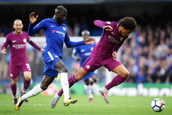 Chelsea (xanh) đã để thất bại trước Man.City. Ảnh: Getty Images