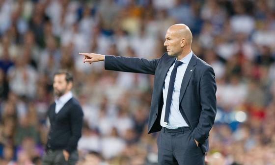HLV Zidane có thể làm thuyền trưởng tuyển Pháp trong tương lai. Ảnh: Getty Images