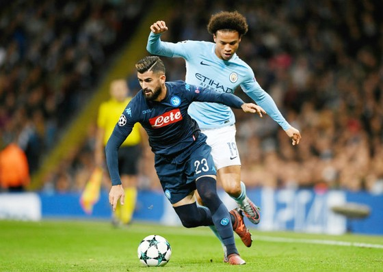 Bảng F: Man.City - Napoli 2-1: Cơn cuồng phong ở Etihad ảnh 1