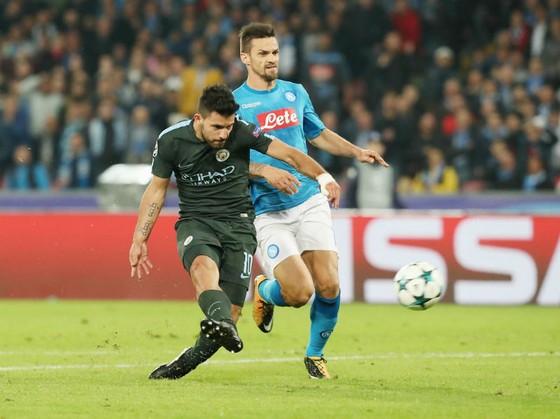 Sergio Aguero với bàn thắng quan trọng đối với sự nghiệp của anh cũng như với Man.City. Ảnh: Getty Images