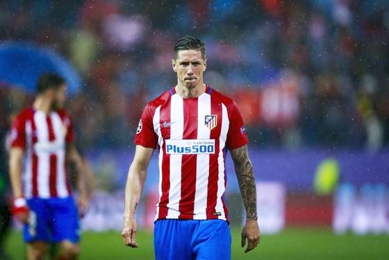 Torres chia tay Atletico vào tháng Giêng. Ảnh: Getty Images