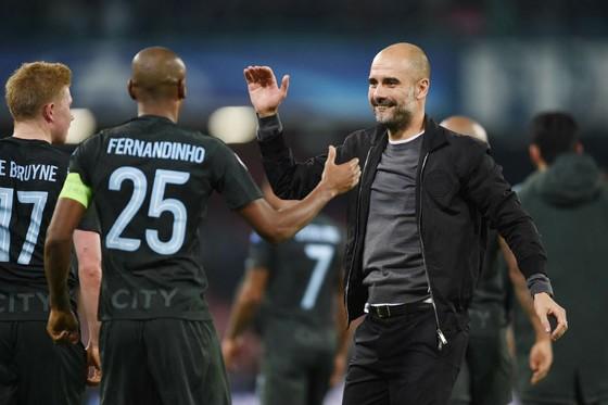 Pep Guardiola và đoàn quân chinh phạt của ông liệu có làm nên lịch sử? Ảnh: Getty Images