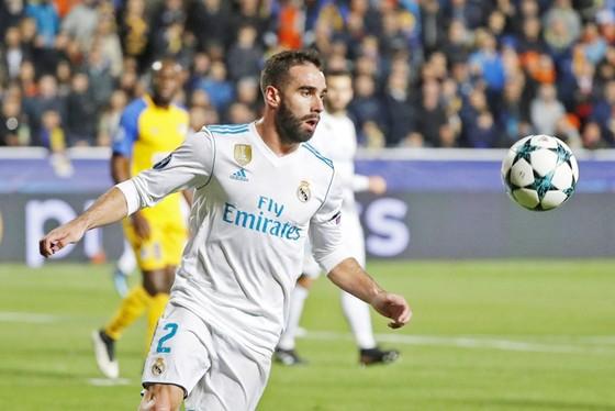 Carvajal có thể nhận án phạt bổ sung từ UEFA. Ảnh: Getty Images