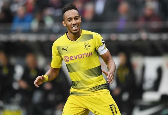 Pierre-Emerick Aubameyang đang bất mãn tại Dortmund sẽ là cơ hội của Chelsea. Ảnh: Getty Images