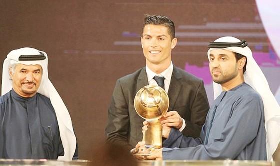Ronaldo nhiều khả năng sẽ giành tiếp giải thưởng Globe Soccer Awards. Ảnh: Getty Images
