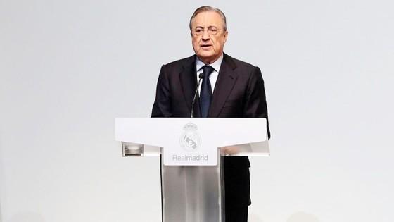 Perez cho biết Real hiện tại là tốt nhất trong lịch sử. Ảnh: Getty Images