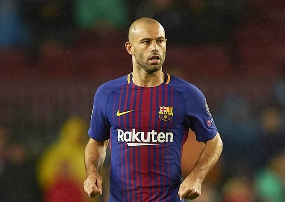 Mascherano thừa nhận mất tầm ảnh hưởng tại Barca. Ảnh: Getty Images