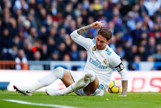 """Ramos châm ngòi cuộc chiến """"võ mồm"""" với Barca. Ảnh Getty Images."""