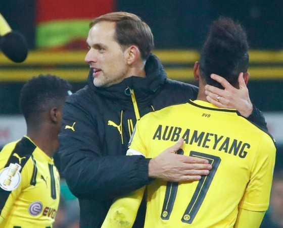 Thomas Tuchel sẽ sớm gặp lại Pierre-Emerick Aubameyang tại Arsenal? Ảnh: Getty Images