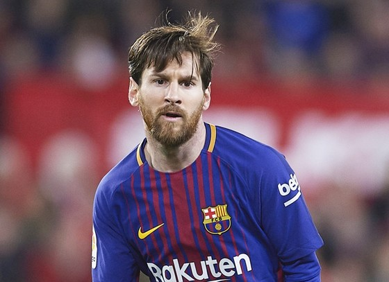 Với Messi, chuyện giải nghệ còn rất xa. Ảnh: Getty Images