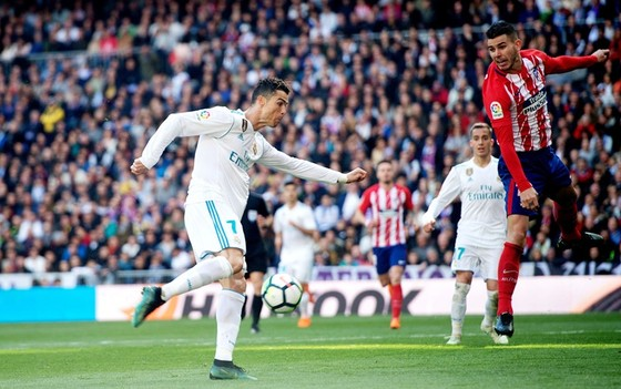Ronaldo thiết lập kỷ lục cùng Real. Ảnh: Getty Images