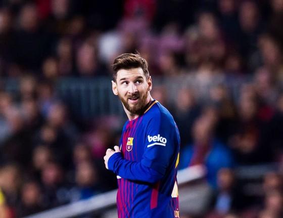 Messi được chọn làm gương cho các cầu thủ trẻ Man.United.Ảnh: Getty Images