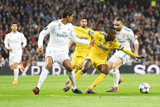 Real đã chơi không tốt trong suốt thời gian trận đấu. Ảnh: Getty Images