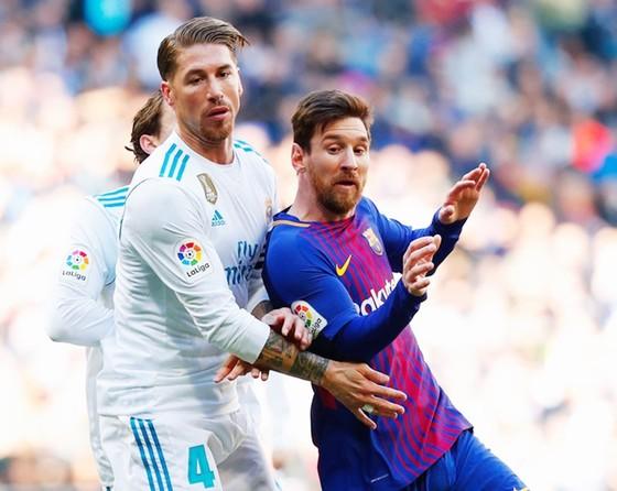 Real chẳng cần phải e dè Messi. Ảnh: Getty Images