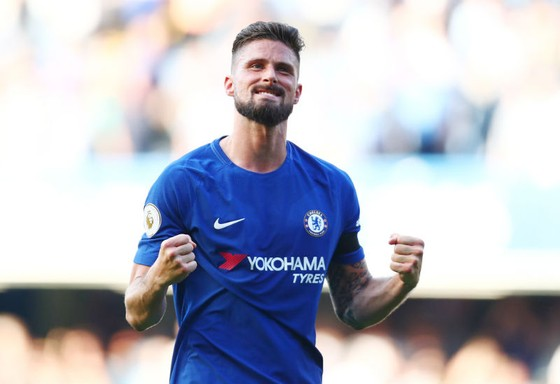 Olivier Giroud đã ghi một trong những bàn thắng quan trọng nhất sự nghiệp. Ảnh: Getty Images