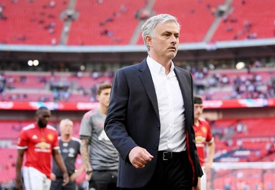 Hiếm hoi sau 1 thất bại, HLV Jose Mourinho vẫn hài lòng với màn trình diễn của các cầu thủ. Ảnh: Getty Images