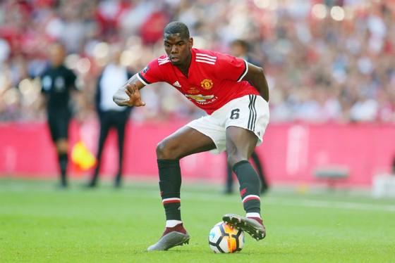 Paul Pogba trong một nỗ lực biểu diễn kỹ năng. Ảnh: Getty Images