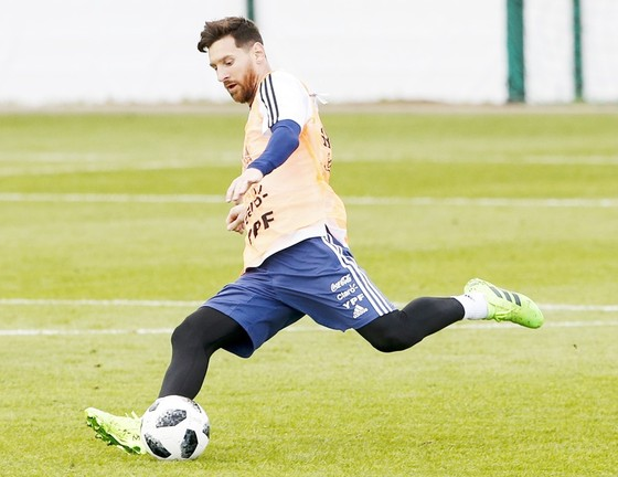 Messi và đồng đội được chăm sóc một cách chu đáo. Ảnh Getty Images