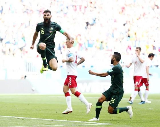 """Đan Mạch - Australia 1-1: Tiếc cho những """"chú Kangaroo"""" ảnh 1"""