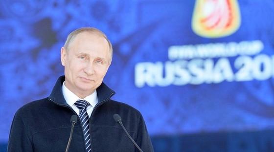 Chiến tích của tuyển Nga đã nức lòng Tổng thống Putin. Ảnh: Getty Images