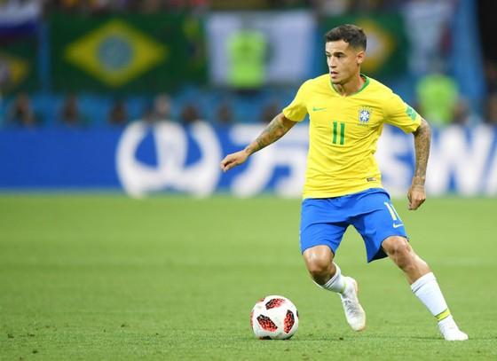 Philippe Coutinho đã chơi tốt, nhưng không thể cùng Brazil thành công. Ảnh: Getty Images