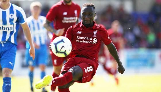 Naby Keita gây ấn tượng trong ngày ra mắt Liverpool. Ảnh: Getty Images