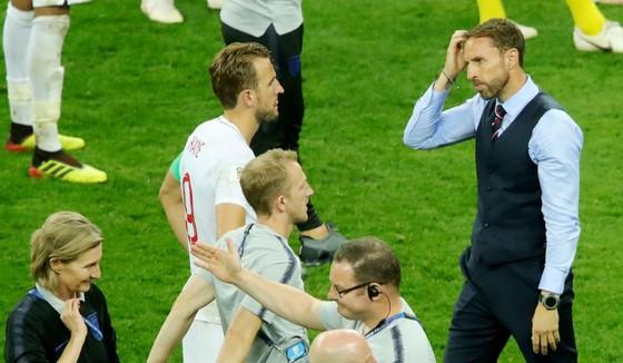 HLV Gareth Southgate (phải) có thể sẽ thay đổi đội hình ở trận tranh hạng 3. Ảnh: Getty Images