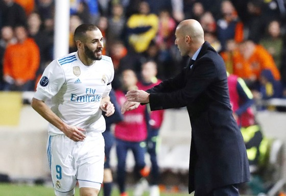 Zidane đi rồi, tương lai Benzema không được đảm bảo. Ảnh: Getty Images