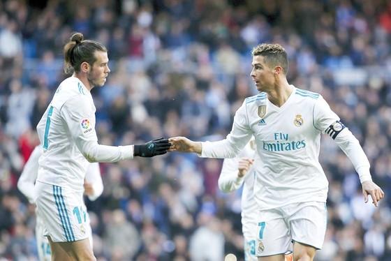 Bale được cho rất mừng khi Ronaldo ra đi. Ảnh: Getty Images