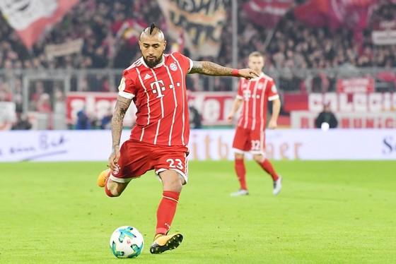 Vidal đang trên đường đến Barca. Ảnh: Getty Images